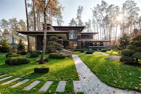 modern prairie style homes a contemporary prairie house by yunakov architecture in kiev ukraine