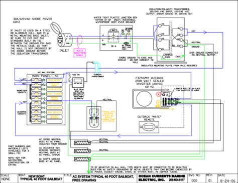 boat electrical wiring diagrams boat free engine image
