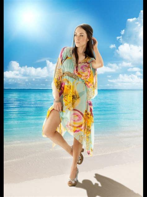 P Lulu Kaftan blue mojito lulu embellished silk designer kaftan