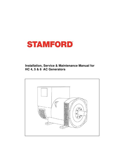 newage stamford generator wiring diagram electric