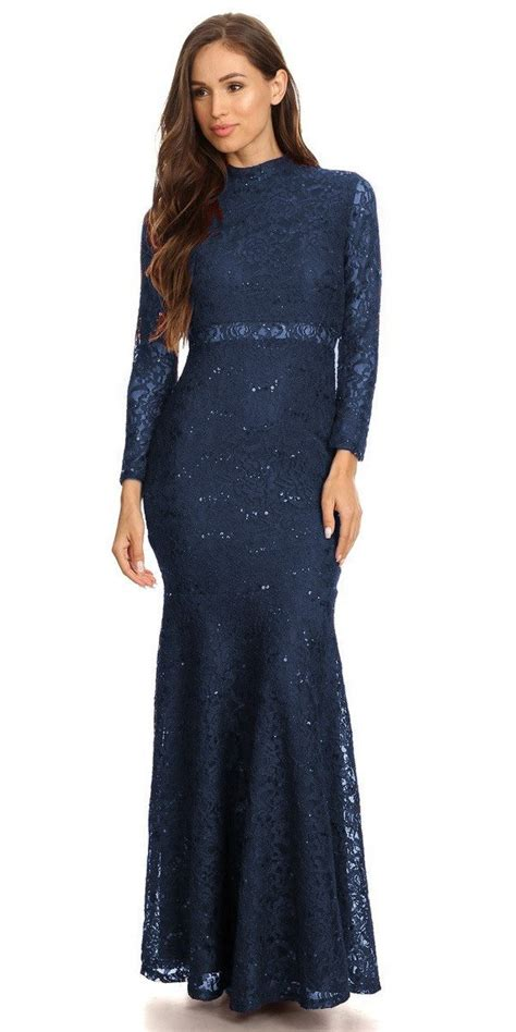 Mock Two Lace Dress mock two lace length dress gowns and
