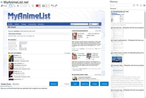 Myanimelist App by Myanimelist Net Integration With Flamory
