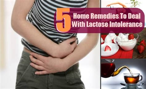 8 top home remedies to deal with lactose intolerance
