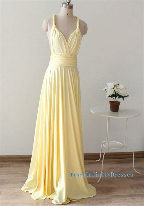 light yellow bridesmaid dresses bridesmaid dresses light yellow infinity dress