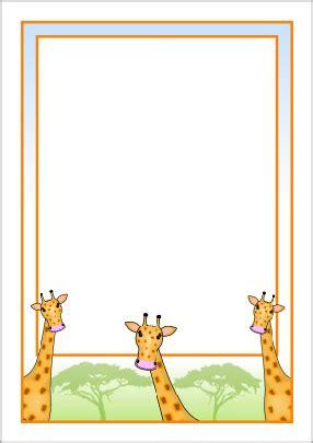 pattern writing frame giraffe border pinterest giraffe border design and