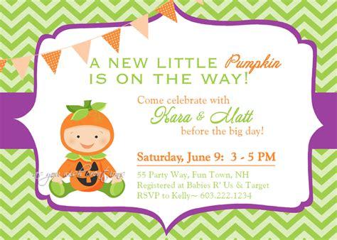 Template Pumpkin Baby Shower Invitations Fall Baby Shower Invitation Templates