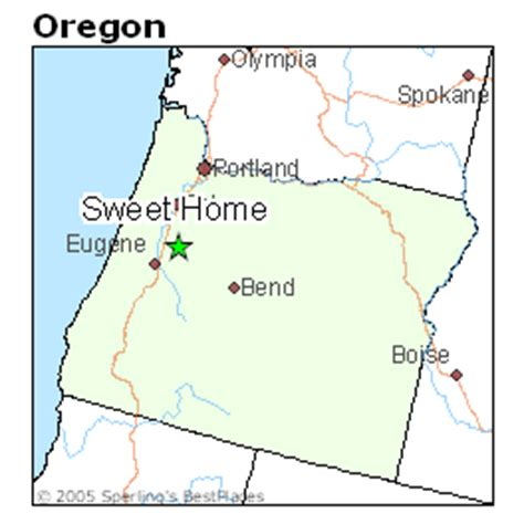 best places to live in sweet home oregon