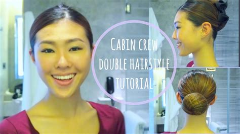 Hairstyle For Cabin Crew by Cabin Crew Hairstyle Tutorial Twist Hair Bun