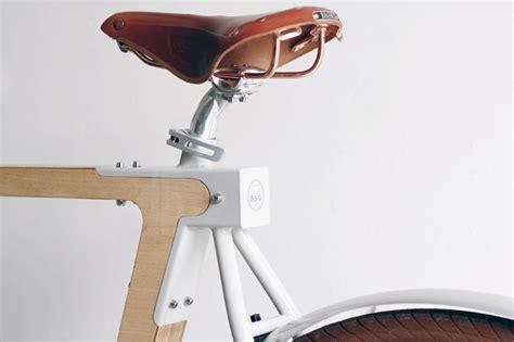 designboom wooden bike wood b wooden bicycles by bsg bikes