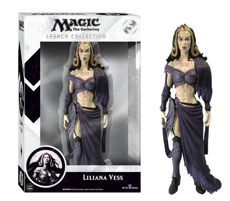 lady gaga action figures toys bobble heads magic the gathering liliana vess legacy action figure