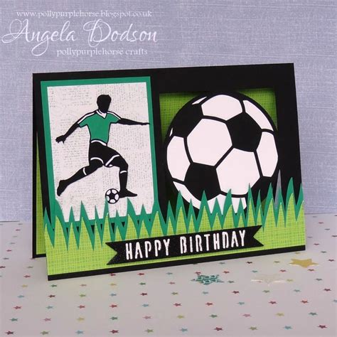 themed birthday cards make a football themed birthday card