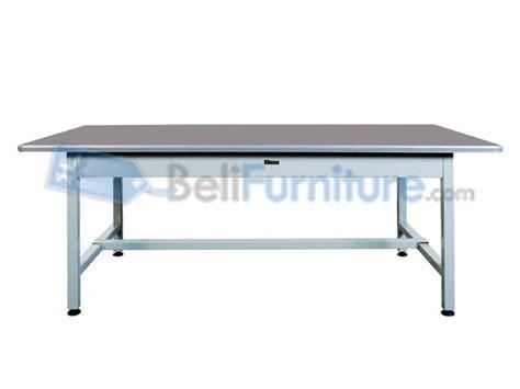 Meja Kerja Bentuk L 101 c murah bergaransi dan lengkap belifurniture