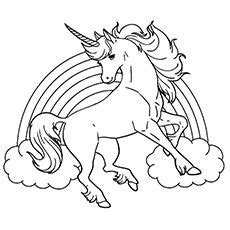 Top 25 Free Printable Unicorn Coloring Pages Online  Colora&231&227o sketch template