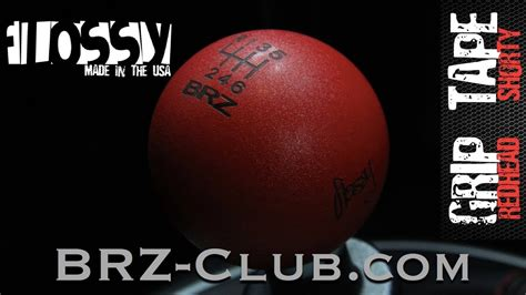 Flossy Shift Knob Brz by Flossy Grip Shorty Shift Knob Unboxing