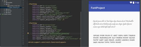 fonts in xml android developers android o developer preview 3 final apis now available