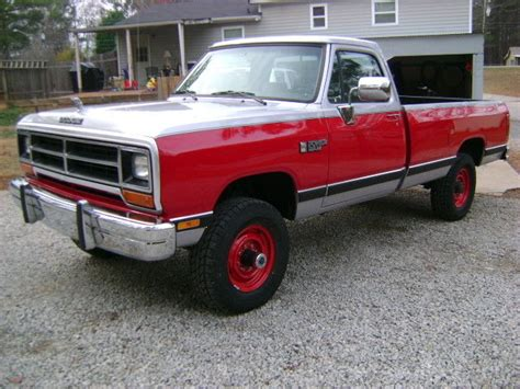 1990 dodge w350 1 ton 4x4 up restored must see