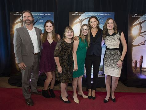 The Miracle With Garner Garner Celebrates Miracles From Heaven Outside Boston
