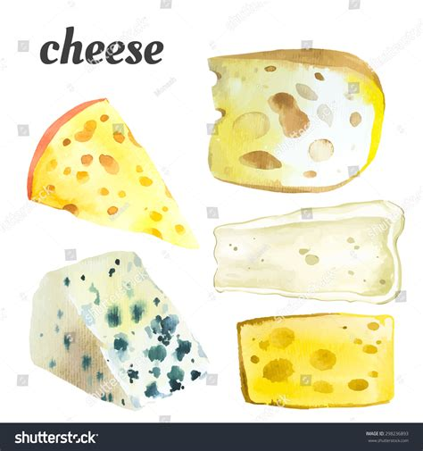 vector illustration with watercolor food watercolor illustration of a painting technique fresh