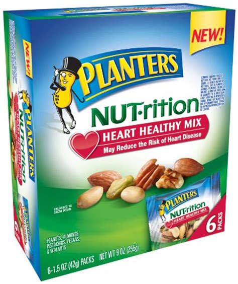 Planters Healthy Mix by Trail Mix Planters Nutrition Healthy Mix 6 Pouches