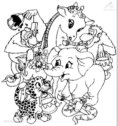 Animal Coloring Page by Animals Coloring Page