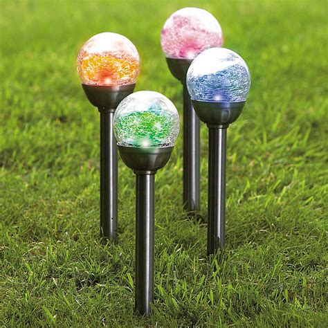 Solar Powered Patio Lighting Beautify Your Home By Installing A Decorative Garden Lights Decorative Solar Garden Lights The