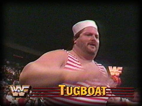 tugboat wwf tugboat the official wrestling museum