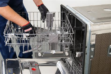 how to repair a dishwasher rack how to replace a dishwasher upper rack height adjuster in a dishwasher repair guide help