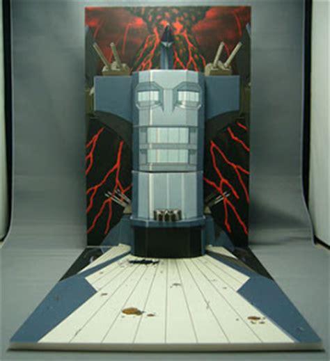 Gurren Lagann Papercraft - gainax gurren lagann papercraft diorama quot dai gurren
