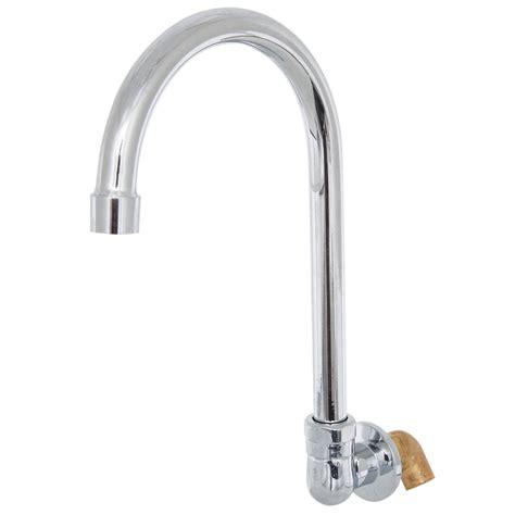 Faucet Gooseneck Regency Lead Free Wall Mount Handsink Faucet With 6