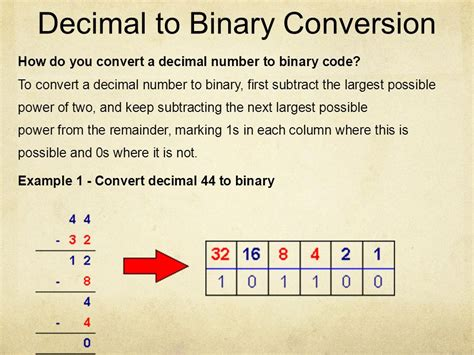converter decimal to binary introduction to computers part ii ppt download