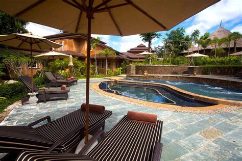 pools and patio furniture backyard design ideas