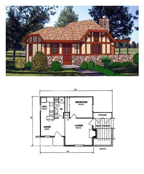 16 best tudor style house plans images on tudor