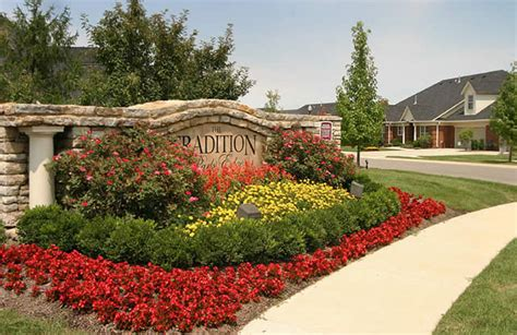 Landscape Design Around Signs Neighborhood Entrance Landscaping Photos Landscape