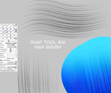 paint tool sai pack hair brush for painttoolsai by natakiro on deviantart
