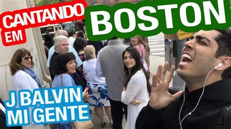j balvin boston cantando em boston j balvin quot mi gente quot youtube