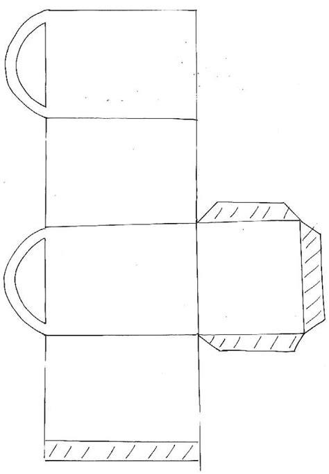 Imprimer le modèle de mini sac cadeau Noël