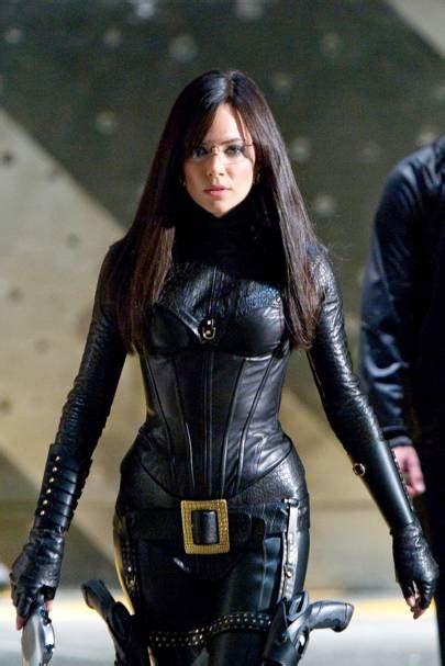 hot chick in gi joe female villains beautiful baddies in pictures british
