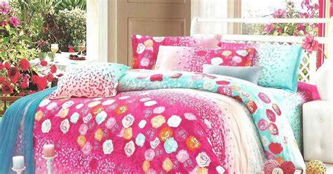 Tencel Bunga Pink sprei jepang pink hijau motif bunga sprei cantik sprei