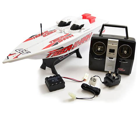 Racing Boat Radio Tiger Shark hobby engine tiger shark racing boat 2 4ghz 1 25 rtr rc boat