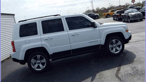 white jeep used white jeep patriot 2014