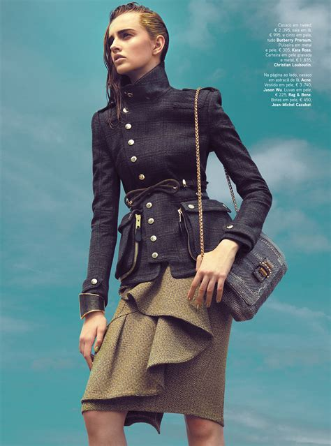 despensa militar kevin sinclair lenses military style for vogue portugal s