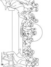 last supper coloring page sketch of jesus last supper coloring pages
