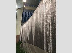 Waterfall Wall at entryway - Picture of ARIA Resort ... Aria Hotel Vegas Rooms