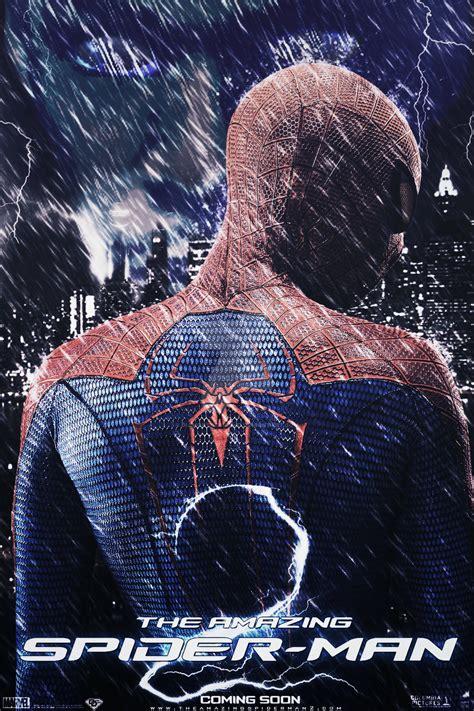 the amazing spider 2 poster v3 by diamonddesignhd on