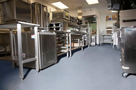 Commercial Kitchen Flooring Epoxy & Stained Concrete