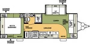 26 Foot Travel Trailer Floor Plans by 2007 Forest River Flagstaff Travel Trailer Rvweb Com