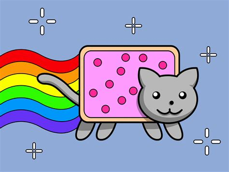 draw nyan cat  steps  pictures wikihow