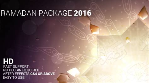 template after effects ramadan ramadan package holiday after effects templates f5