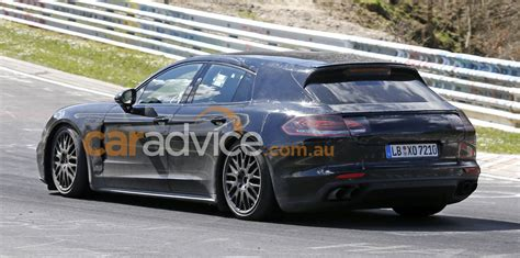 porsche panamera wagon 2017 porsche panamera shooting brake spied at the