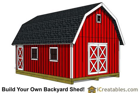 Gambrel Roof Barn Plans by 10x20 Shed Plans Building The Best Shed Diy Shed Designs